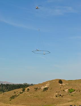 SkyTEM airborne electromagnetic survey
