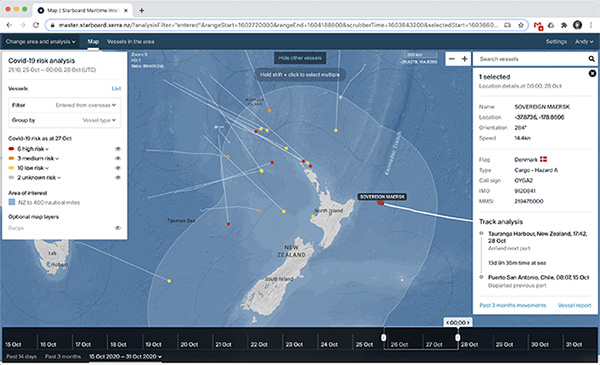 Starboard Maritime Intelligence program