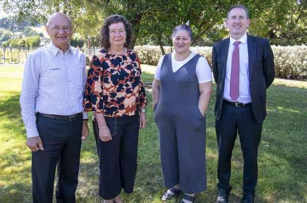John Bright, Wendy Larner, Cynthia Kiro, John McDermott