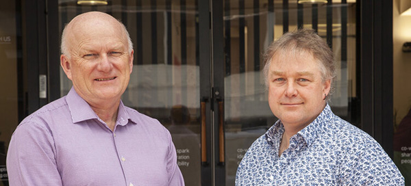 Prof Ian Yule and Dr Mark Begbie
