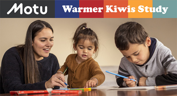 Motu: Warmer Kiwis Study