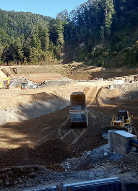 VFR construction at Reefton